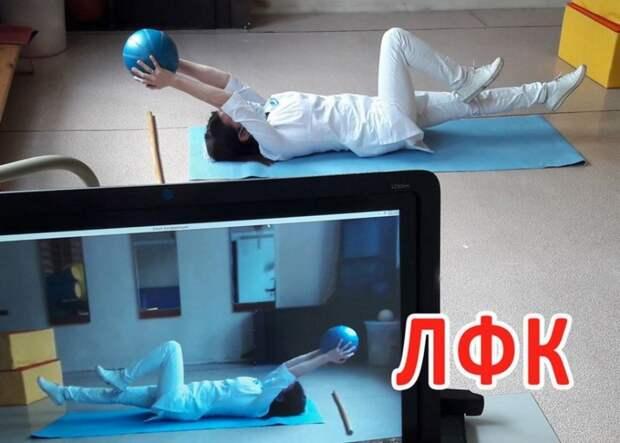 Занятия физкультурой помогут ребятам из Западного Дегунина вылечить плоскостопие