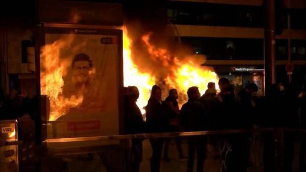Евросоюз в упор не видит массовые протесты в Испании: Это совсем другое