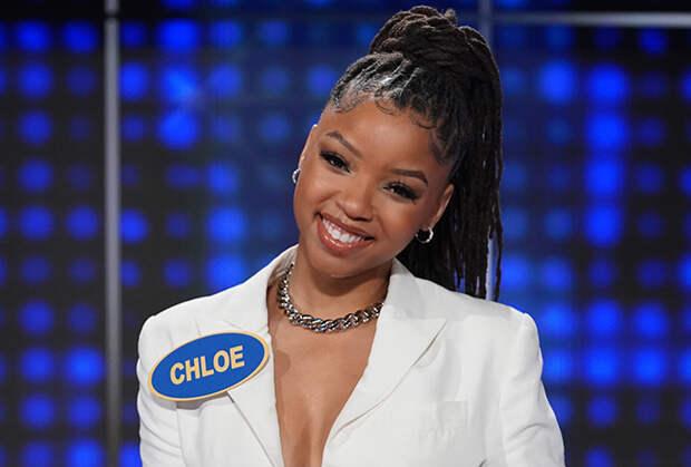 grown-ish's Chloe Bailey Stands Alone Against Team Good Trouble — Watch Celebrity Family Feud Sneak Peek