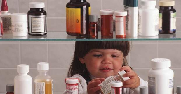 Список лекарств, которые нужно положить в аптечку, если в доме есть дети