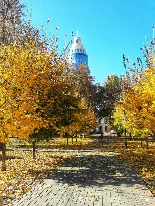 Самый мой любимый русский сезон - золотая осень. Природа у нас шикарная один из важнейших плюсов.