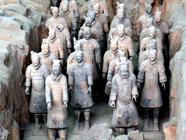 Спорная теория: греки помогли китайцам создать Терракотовую армию?