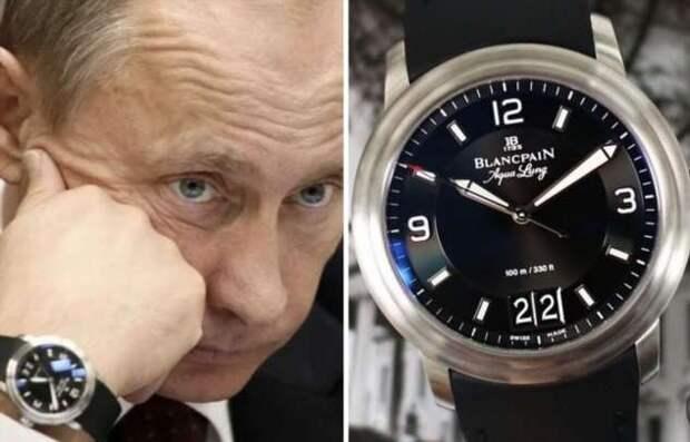 Какие часы предпочитает носить Владимир Путин: 5 запоминающихся моделей