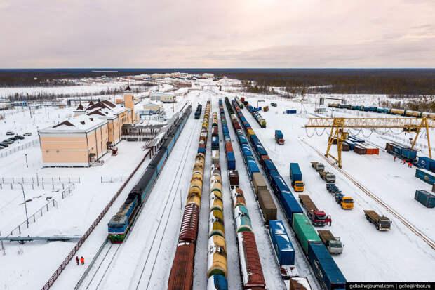 Железные дорога сурового Севера