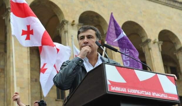 Саакашвили предупредил Украину о потере территорий после блокировки оппозиционных каналов