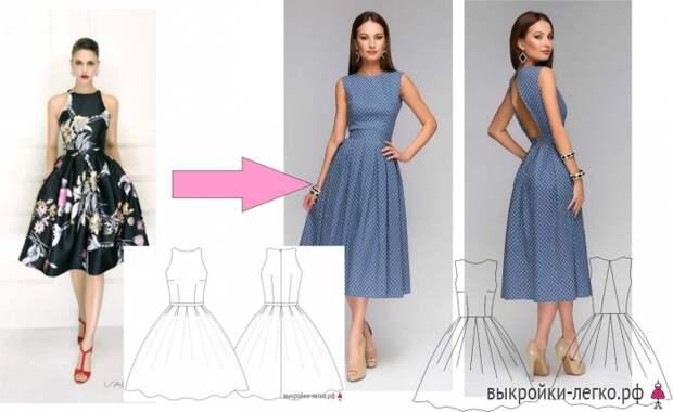 Как сшить платье новичку: мастер-класс