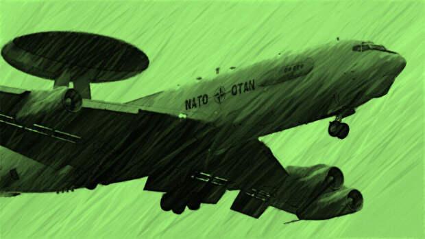 А в НАТО заявят - мы воду везли! Срисовывал автор.