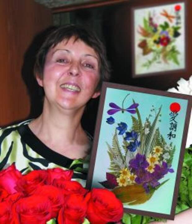 Татьяна Милюкова освоила японское искусство ошибана / Фото из личного архива