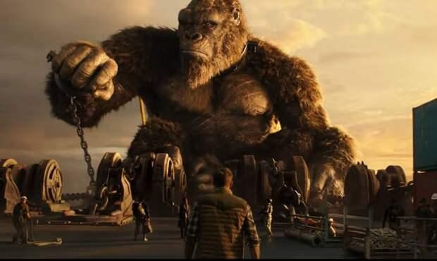 Фильм «Годзилла против Конга» стал самым кассовым в пандемию
