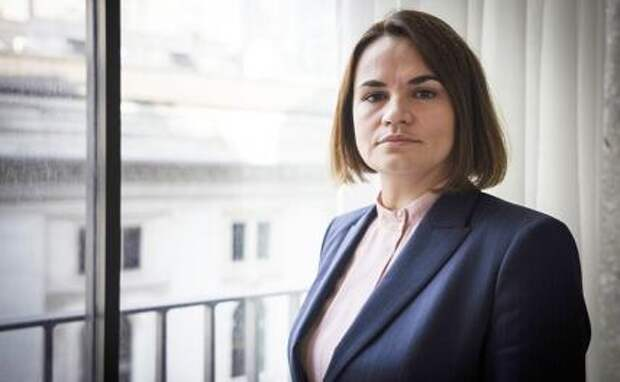 На фото: лидер белорусской оппозиции Светлана Тихановская