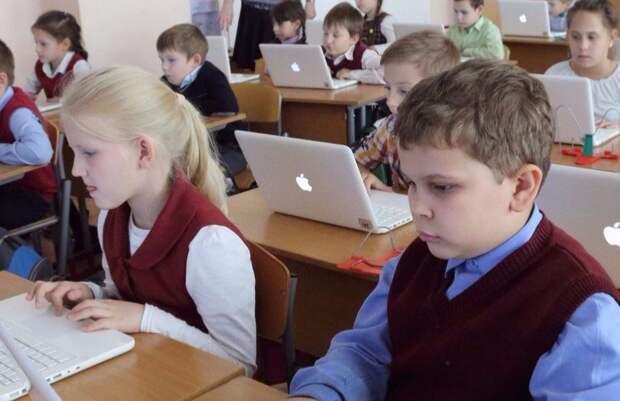 Собянин отметил важность проекта «Московская электронная школа». Фото: mos.ru
