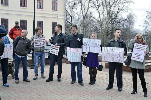 Жители Ленобласти не захотели участвовать в акциях в поддержку Навального