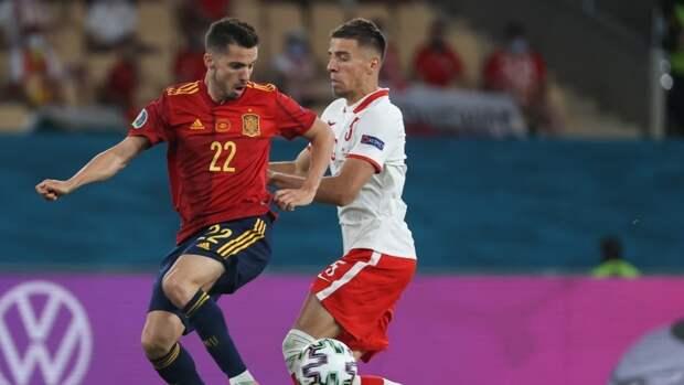 Жорди Альба стал лучшим игроком встречи Испания - Польша на Евро-2020