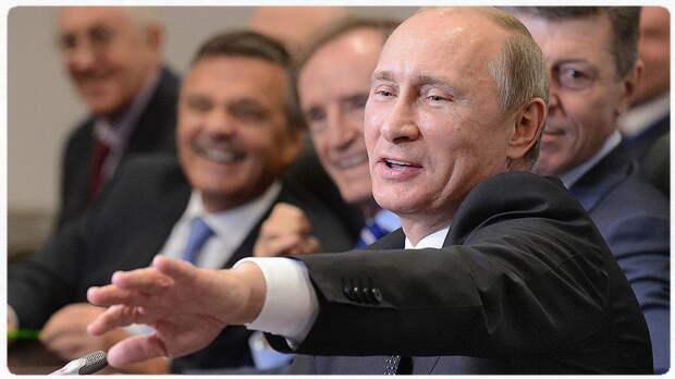 «И тут Остапа понесло»: Путин о Tpaмпe и руccких пpocтитуткax!