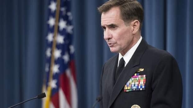 Кирби: Пентагон не видит угрозы терроризма из Афганистана