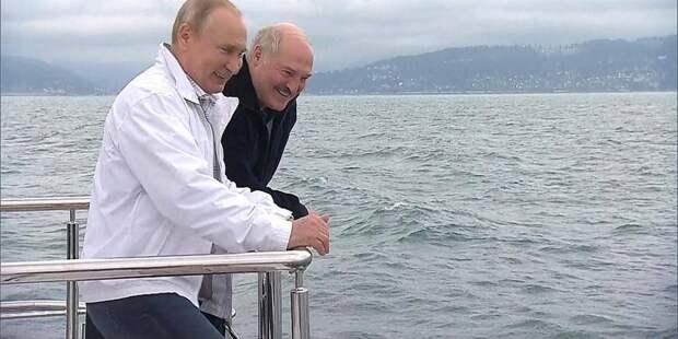 Постмодернизм в постмаразме - Клинтон и Лукашенко
