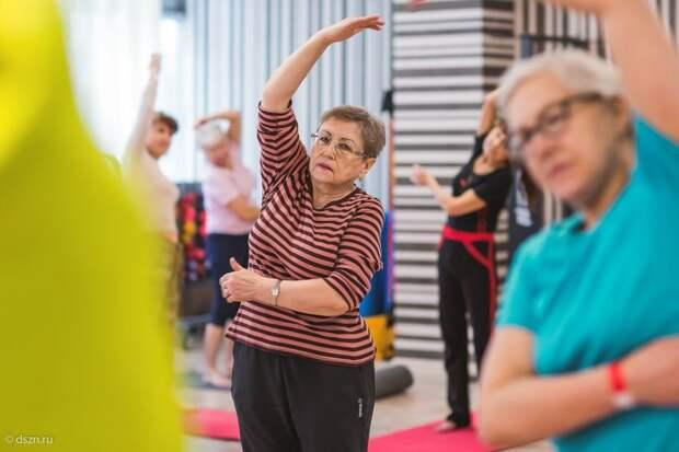 Участники «Московского долголетия» из Войковского займутся гимнастикой онлайн 23 мая