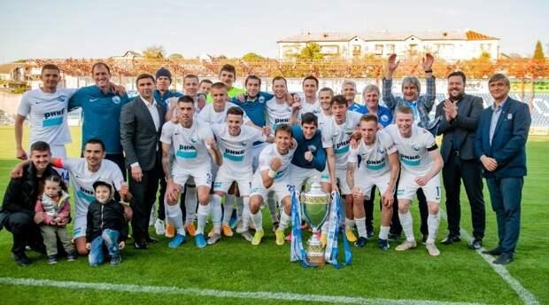 Футбольный клуб «Севастополь» стал победителем Премьер-лиги КФС 2020-21 годов