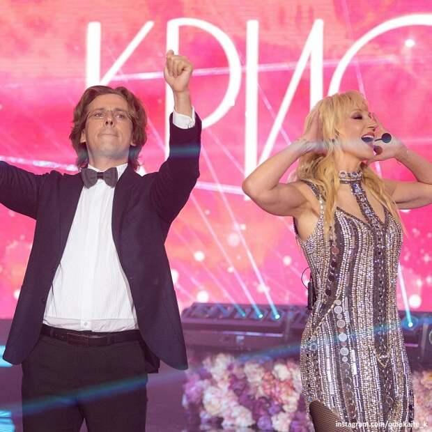 Кристина Орбакайте горячо отблагодарила Максима Галкина за активное участие в ее юбилее