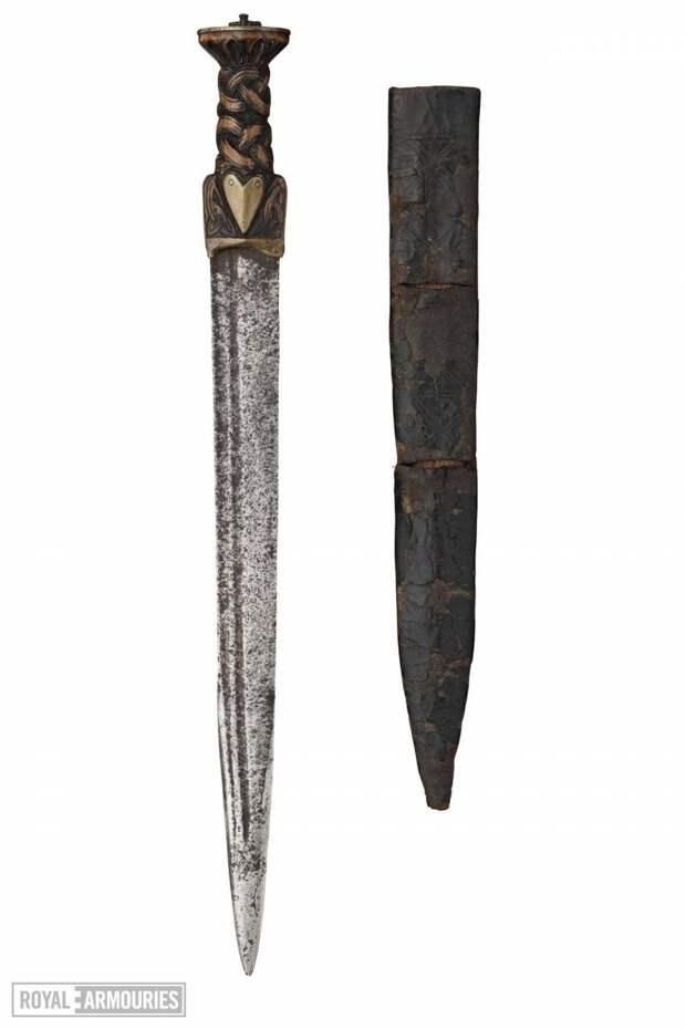 «Вспомогательное» холодное оружие рыцаря. Кинжалы