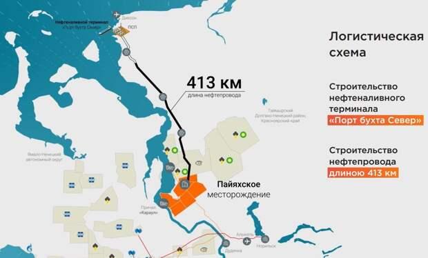 Бухта Север станет крупнейшим портом Арктического региона