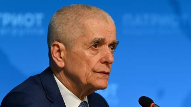 Онищенко выступил против открытия авиасообщения с Египтом