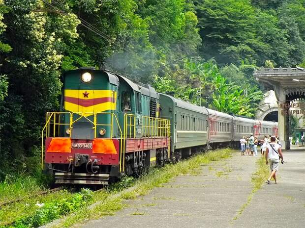 Между Туапсе и Гагрой будет ходить туристический ретро-поезд