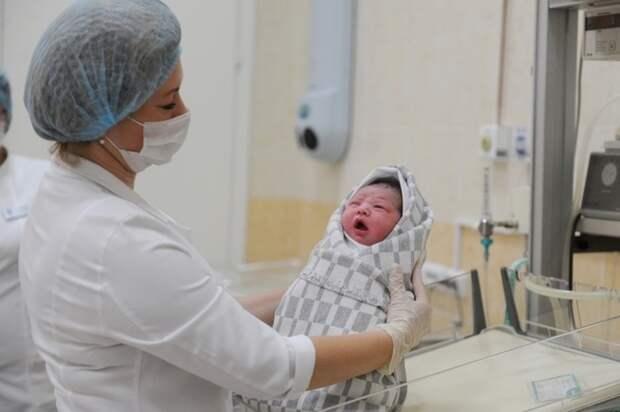 ПФР прогнозирует рождение 1,37 миллиона детей в России в 2022 году