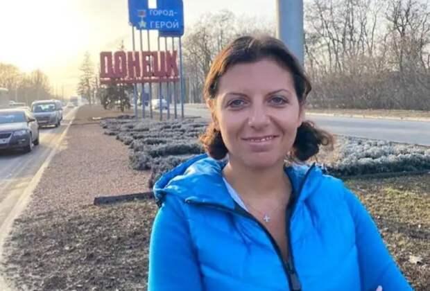Маргарита Симоньян одной фразой высказала позицию по Донбассу