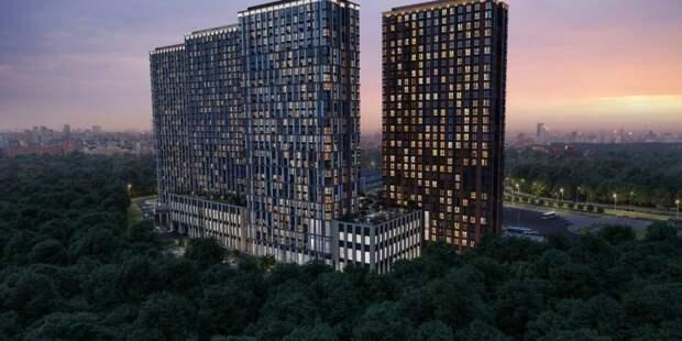 Строительство жилого комплекса на Дыбенко завершено