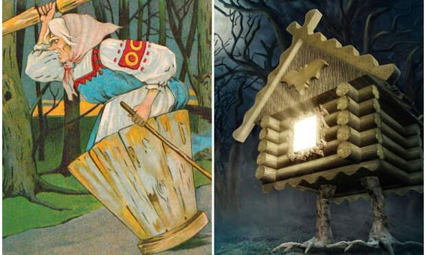 Зачем избушке курьи ножки, а Бабе-яге — ступа? Тайный смысл русских сказок