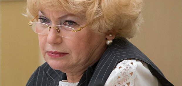 Нарусова повторно обозвала пикетчика бомжом