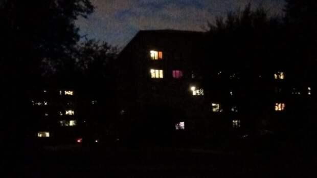 Тюменцы боятся ходить вечером поулице из-за отсутствия освещения