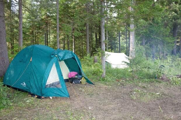 Почему я не люблю ночевать в палатке..