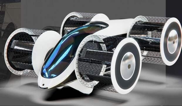 В России начали испытывать прототип летающего автомобиля «Циклокар»