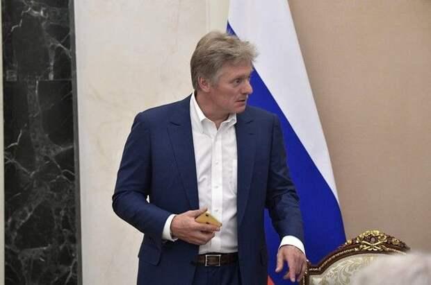 Песков подтвердил контакты по подготовке встречи Путина и Зеленского