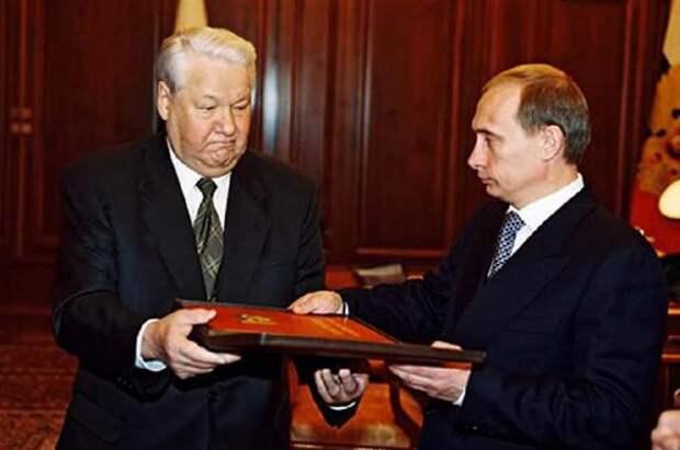 Активизация команды Ельцина – к транзиту власти в России