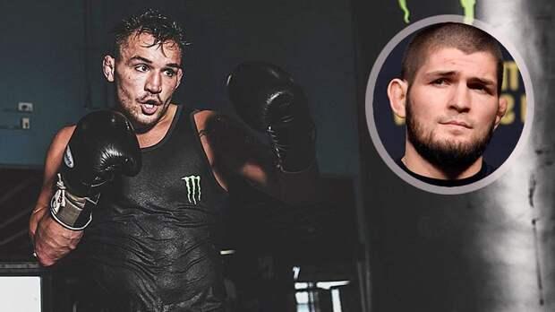 Чендлер пообещал нанести Хабибу первое поражение в карьере, если россиянин вернется в UFC