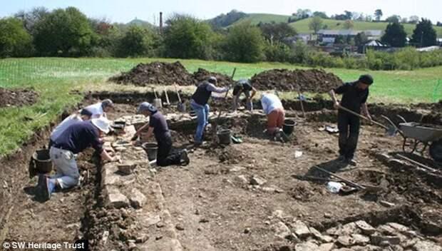 На территории Великобритании найдены останки первых монахов!