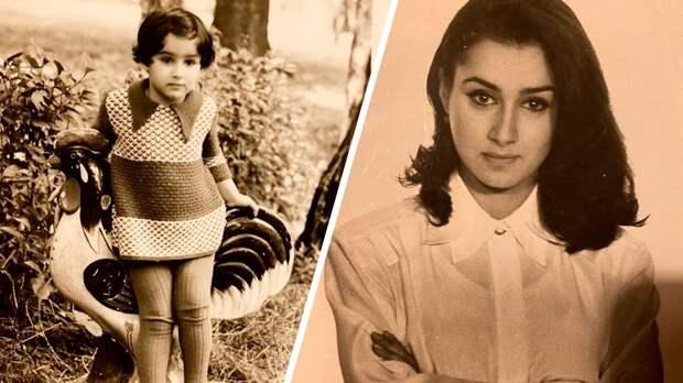 Тина Канделаки показала, как выглядела в детстве и юности