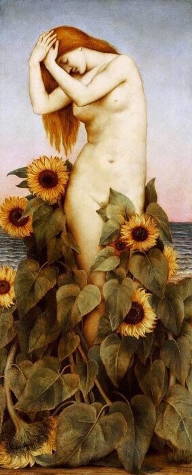 Эвелин де Морган «Клития» (1887г.)