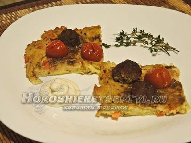 Картофельная запеканка с фаршем рецепт