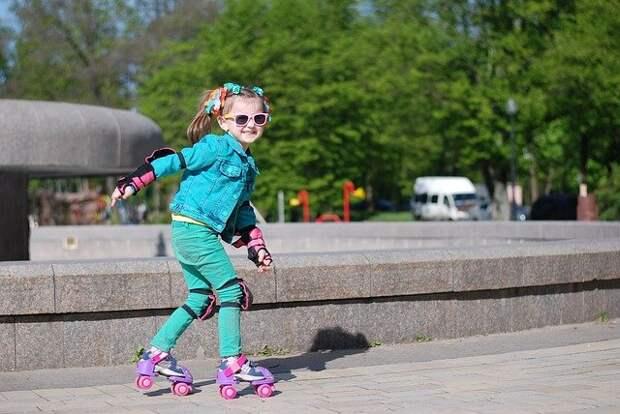 Бесплатные уроки катания на роликах проведут в парке «Митино»