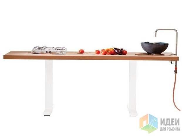 Специальный стол для сада, Cassecroute