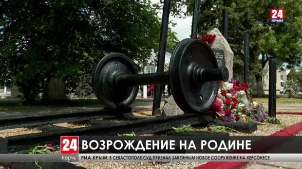 По всему Крыму воспоминают жертв депортации 1944 года