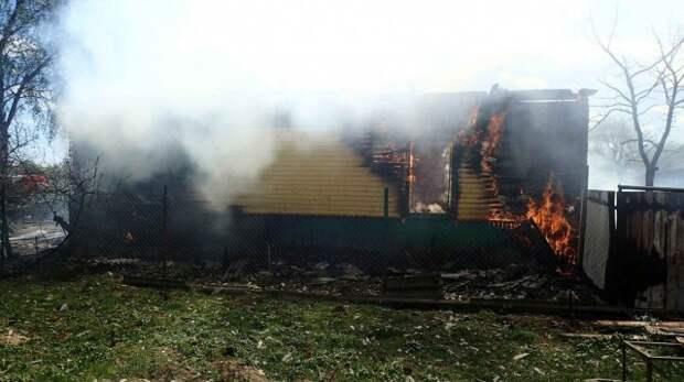 Горели жилой дом и гараж: за один день в Бобруйском районе произошло два пожара.