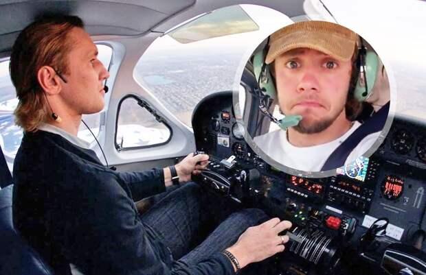 «Ковалев — хороший пилот, но я все равно взял с собой парашют». Панарин — о полете на самолете над Нью-Йорком