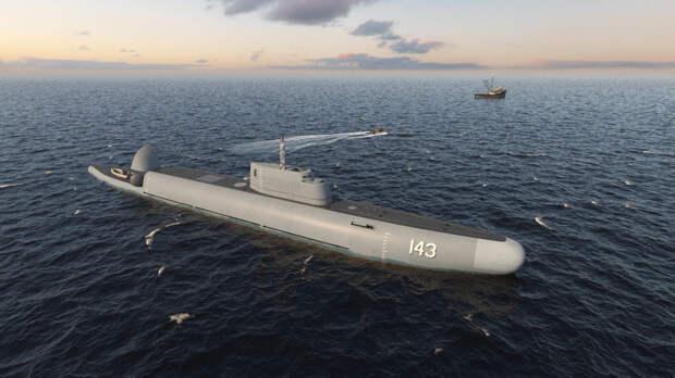 Необычный проект: зачем нужен погружающийся патрульный корабль