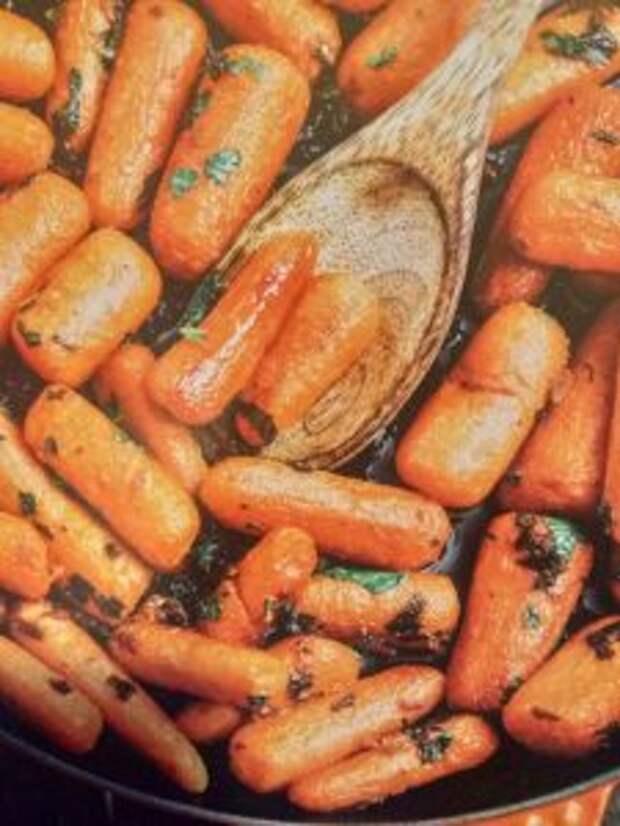 Морковка в карамели / Фото из личного архива