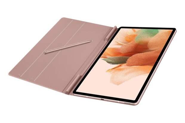 Планшет Samsung Galaxy Tab S7 Lite показали на пресс-рендерах в чехле и со стилусом S Pen